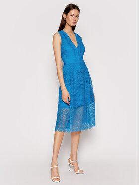MICHAEL Michael Kors MICHAEL Michael Kors Koktejlové šaty MS1803Y1D0 Modrá Regular Fit