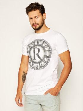 Rage Age Rage Age T-shirt Pixel 2 Bijela Slim Fit