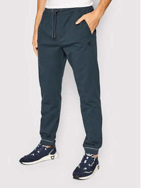 Guess Guess Teplákové kalhoty M1BB37 K7ON1 Tmavomodrá Regular Fit