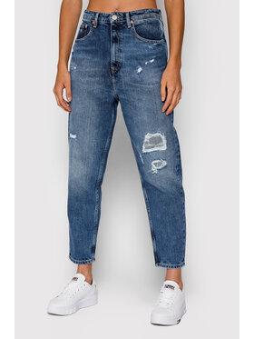 Tommy Jeans Tommy Jeans Jeansy DW0DW10863 Tmavomodrá Mom Fit