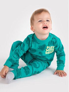Coccodrillo Coccodrillo Spodnie dresowe ZC1122701ALW Zielony Regular Fit