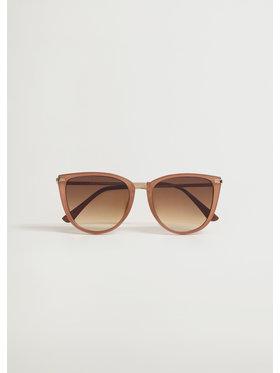 Mango Mango Okulary przeciwsłoneczne Jordyn 87075682 Brązowy