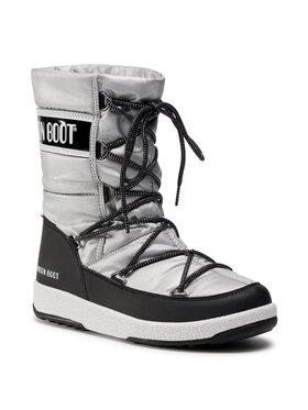 Moon Boot Moon Boot Schneeschuhe Jr G. Quilted Wp 34051400006 D Grau
