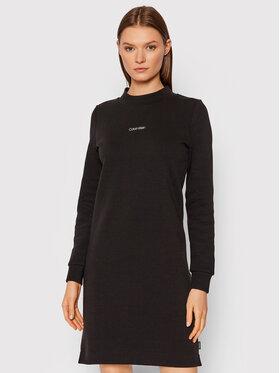 Calvin Klein Calvin Klein Плетена рокля K20K203233 Черен Regular Fit
