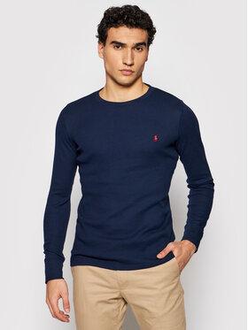 Polo Ralph Lauren Polo Ralph Lauren Тениска с дълъг ръкав Crw 714830284001 Тъмносин Regular Fit