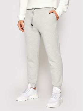 Guess Guess Spodnie dresowe U1YA04 K9V31 Szary Regular Fit
