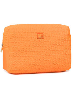 Guess Guess Τσαντάκι καλλυντικών Caris Accessories PWCARI P0215 Πορτοκαλί