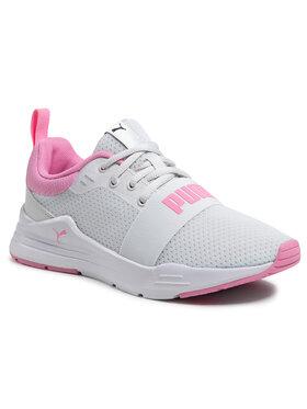 Puma Puma Chaussures Wired Run Jr 374214 06 Blanc