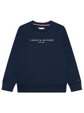 Tommy Hilfiger Tommy Hilfiger Bluză Essential Sweatshirt KS0KS00212 Bleumarin Regular Fit