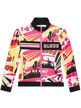 Guess Guess Mikina J1RQ15 MC01P Barevná Regular Fit