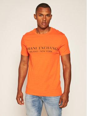 Armani Exchange Armani Exchange Póló 8NZT72 Z8H4Z 1439 Narancssárga Regular Fit