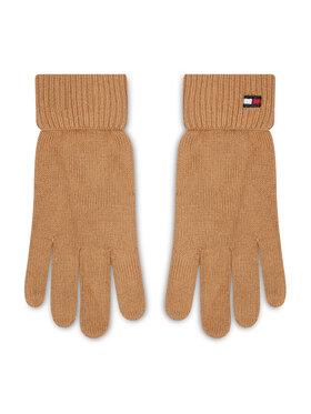 Tommy Hilfiger Tommy Hilfiger Γάντια Γυναικεία Essential Knit Gloves AW0AW10732 Μπεζ