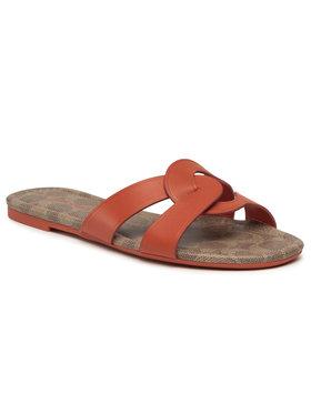 Coach Coach Mules / sandales de bain Essie Leather Sandal C2310 11002151EDC Orange