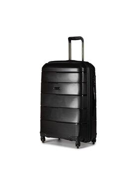 Puccini Puccini Közepes keményfedelű bőrönd Bahamas PP016B 1 Fekete