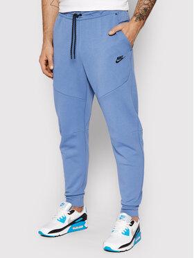 Nike Nike Donji dio trenerke Nsw Tech Fleece CU4495 Plava Slim Fit