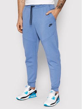 Nike Nike Teplákové nohavice Nsw Tech Fleece CU4495 Modrá Slim Fit