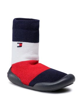Tommy Hilfiger Tommy Hilfiger Pantofole Slipper T1B0-30973-0308Y Blu scuro