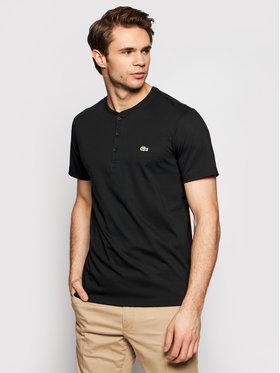 Lacoste Lacoste T-Shirt TH0884 Schwarz Regular Fit