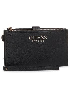 Guess Guess Portefeuille femme grand format G Chain (VG) SLG SWVG77 39570 Noir