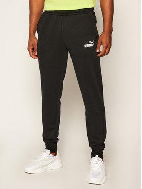 Puma Puma Teplákové kalhoty Ess Logo 851753 Černá Regular Fit