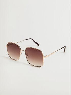 Mango Mango Okulary przeciwsłoneczne Manuela 17010177 Złoty
