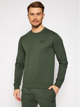 EA7 Emporio Armani EA7 Emporio Armani Bluză 8NPM52 PJ05Z 1862 Verde Regular Fit