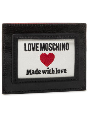 LOVE MOSCHINO LOVE MOSCHINO Étui cartes de crédit JC5606PP1CLC100A Noir