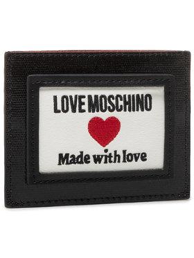 LOVE MOSCHINO LOVE MOSCHINO Etui pentru carduri JC5606PP1CLC100A Negru