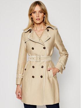 Morgan Morgan Prechodný kabát 211-GINKO Béžová Regular Fit