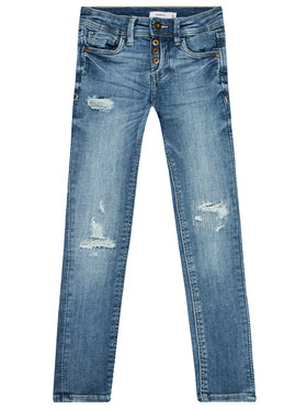 NAME IT NAME IT Traperice Pete 13185466 Plava Skinny Fit