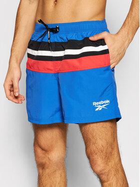 Reebok Reebok Plaukimo šortai 71013 Tamsiai mėlyna Regular Fit