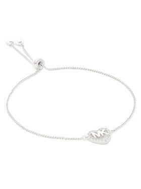 Michael Kors Michael Kors Bracelet Logo Heart Slider MKC1242AN040 Argent