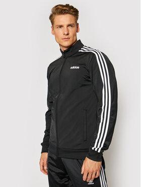 adidas adidas Bluza Essentials 3 Stripes Tricot DQ3070 Czarny Regular Fit