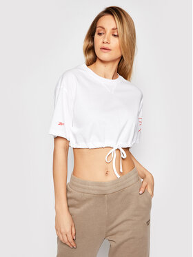 Reebok Reebok T-shirt Myt GI6959 Blanc Regular Fit