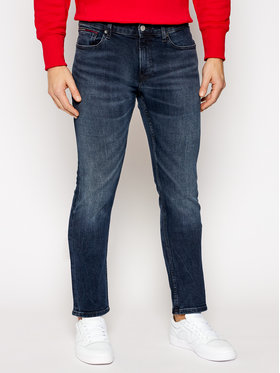 Tommy Jeans Tommy Jeans Jeansy Slim Fit Scanton DM0DM09296 Granatowy Slim Fit