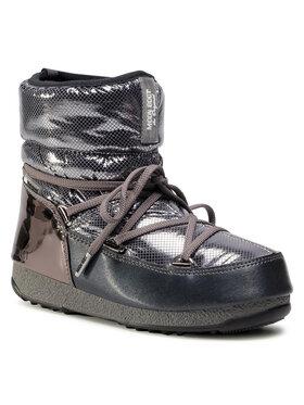 Moon Boot Moon Boot Čizme za snijeg Low St. Moritz Wp 24009900002 Srebrna