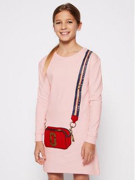 Little Marc Jacobs Little Marc Jacobs Hétköznapi ruha W12333 S Rózsaszín Regular Fit