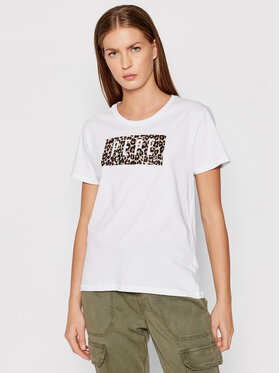 Pepe Jeans Pepe Jeans T-Shirt Cristinas PL504996 Bílá Regular Fit