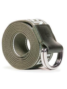 Calvin Klein Jeans Calvin Klein Jeans Cintura da uomo Double D Ring Tape 40mm K50K506423 Verde