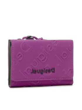 Desigual Desigual Malá dámska peňaženka 21WAYP06 Ružová