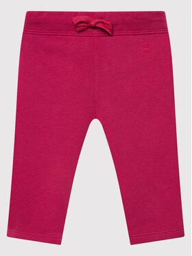 United Colors Of Benetton United Colors Of Benetton Melegítő alsó 3J70I0046 Rózsaszín Regular Fit