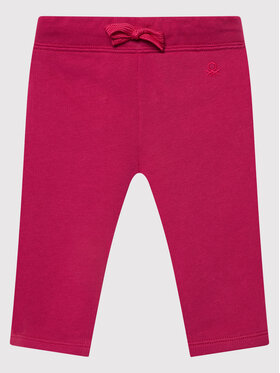 United Colors Of Benetton United Colors Of Benetton Teplákové kalhoty 3J70I0046 Růžová Regular Fit