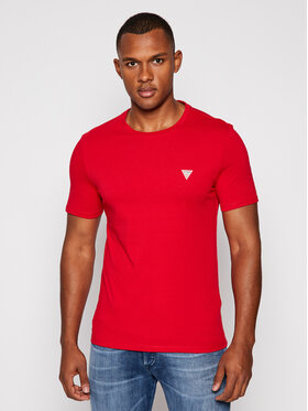 Guess Guess T-Shirt M0BI36 I3Z11 Červená Slim Fit