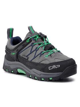 CMP CMP Παπούτσια πεζοπορίας Kids Rigel Low Trekking Shoes Wp 3Q13244 Γκρι