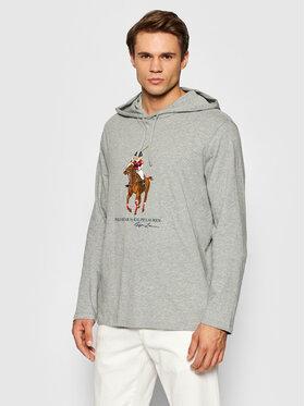 Polo Ralph Lauren Polo Ralph Lauren Majica dugih rukava 710853354001 Siva Regular Fit