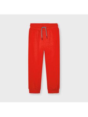 Mayoral Mayoral Teplákové kalhoty 742 Červená Regular Fit