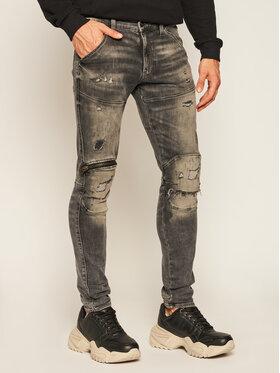 G-Star RAW G-Star RAW Skinny Fit džíny Zip Knee D17708-A634-B841 Šedá Skinny Fit