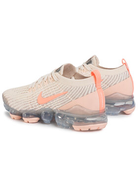 NIKE NIKE Обувки Air Vapormax Flyknit 3 CT1274 200 Бежов