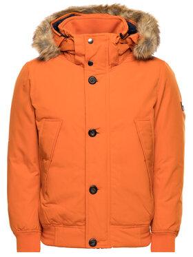 TOMMY HILFIGER TOMMY HILFIGER Vatovaná bunda Down Filled MW0MW11502 Oranžová Regular Fit