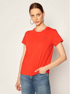 Levi's® Levi's® T-Shirt The Perfect Tee 39185-0100 Rot Regular Fit